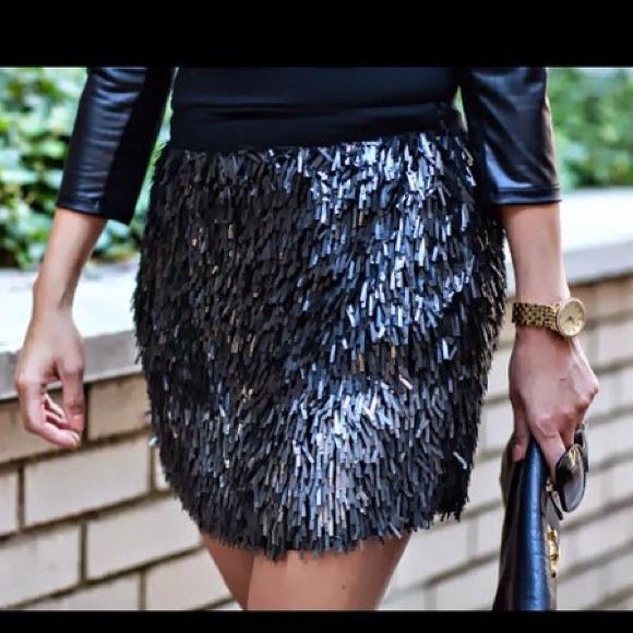 859fba9f1 Zara Ombré Sequin Mini Skirt. M_5458bef7c8ce854f191696af