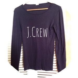 J. Crew Tops - 🎀J. Crew Dark Grey Long Sleeve Knit🎀