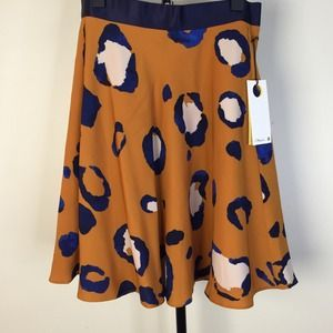 3.1 Phillip Lin for Target Leopard skirt