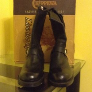 Chippewa Shoes - motorcycle boots