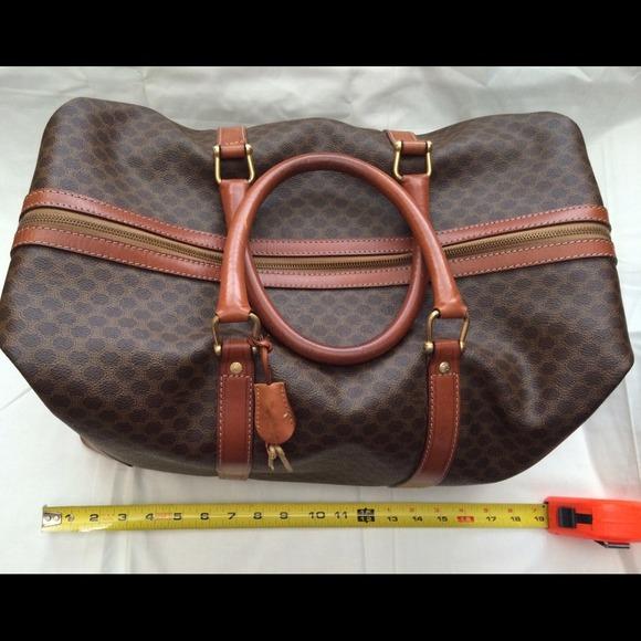 Celine Bags   Vintage Weekender Bag   Poshmark eba3b4aa4b