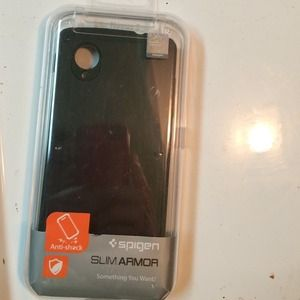 Accessories - Spigen slim armor black case for Nexus5