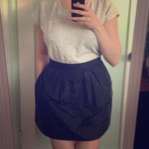 J. Crew Dresses & Skirts - J. Crew black silk skirt