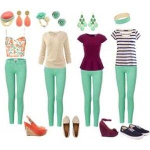 💗 Mint Green Skinny Jeans 💗