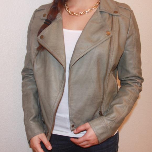 Bar iii leather jacket