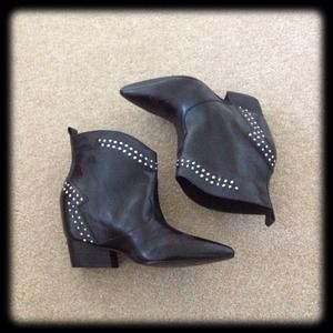 Sigerson Morrison Shoes - Sigerson Morrison Accent Studded Booties