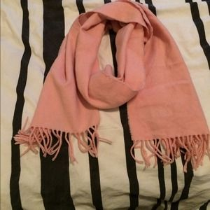Accessories - Pink Cashmere Scarf