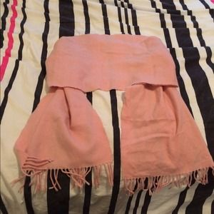 Accessories - Pink Cashmere Scarf