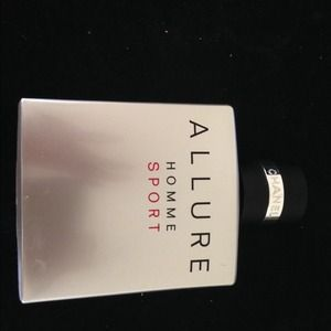 Allure Homme Sport, 3.4 oz, 80% full EDT