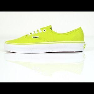 Vans bright yellow sneakers sz 8.5-9