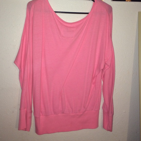 25% off PINK Victoria's Secret Tops - Pink long sleeve love pink ...