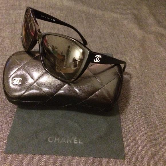 30c350426e7 CHANEL Accessories - CHANEL sunglasses GLITTER LENSES.