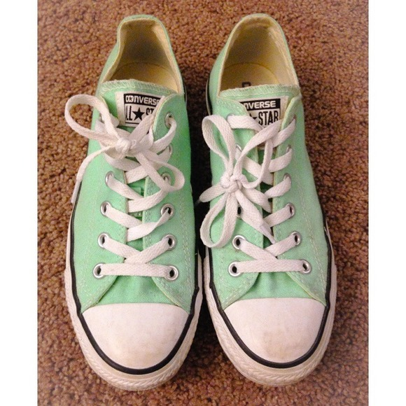 Converse Shoes - Converse (Mint Sea Foam Green) sz 8 43b337725