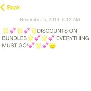 Other - Discounts on Bundles! MSG me