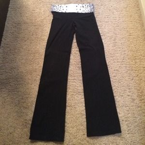 Victoria's Secret pink yoga Bootcut size small