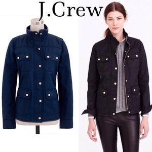J. Crew Outerwear - NWT J.Crew Navy Downtown Field Jacket - XL