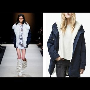 Beautiful shearling Zara Jacket