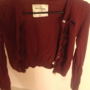 Abercrombie kids L sweater, very pretty!
