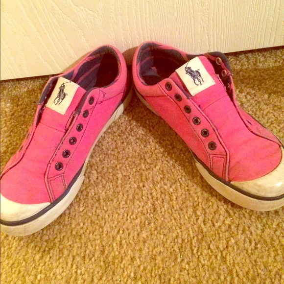 53 polo by ralph shoes pink polo shoes from