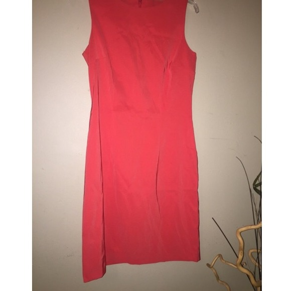 38 off ab studio dresses skirts coral work dress from jocelyn 39 s