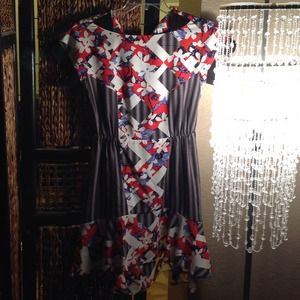 Peter Pilotto Dress Target Flowers