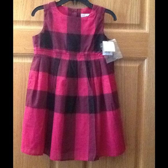 5f149a0aba93 Burberry Dresses   Fuchsia Check Toddler Dress   Poshmark