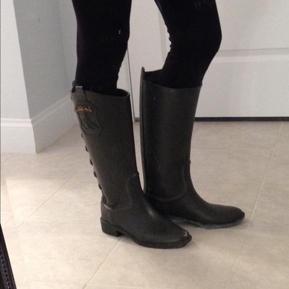 7d6f282c9b4d5b Sam Edelman rain boots. M 545bd148b1760d054a01b863