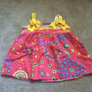 12M multi color dress