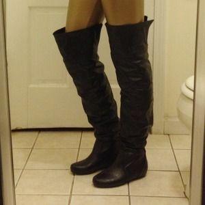 4b01f068ffe Soda Shoes - NIB Black Thigh High Slouchy Boots