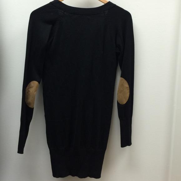 65% off Zara Sweaters - Zara Basic Black Sweater with Elbow ...