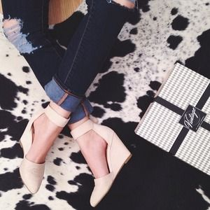 Jeffrey Campbell D'orsay Wedges