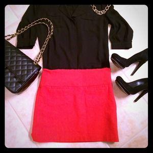 Gap Wool Mini Skirt