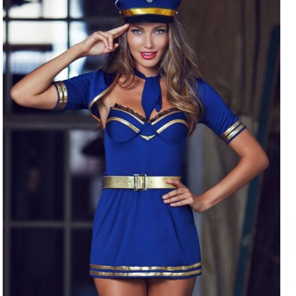 57% off Adore Me Other - Captain Halloween costume 🎃👻 from ...
