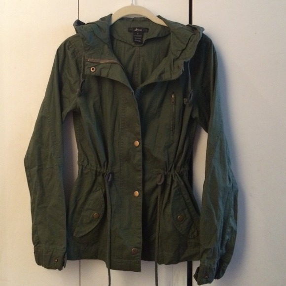 43% off Finesse Jackets & Blazers - Olive green army jacket ...