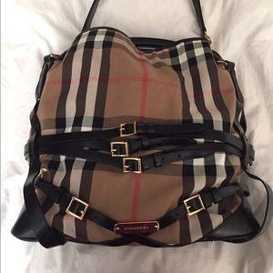 0e7d97e4d0ff burberry large bridle house check tote bag
