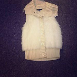 Cute faux fur vest