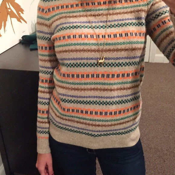 60% off J. Crew Sweaters - 🍂 J. Crew Factory Fair Isle Wool ...