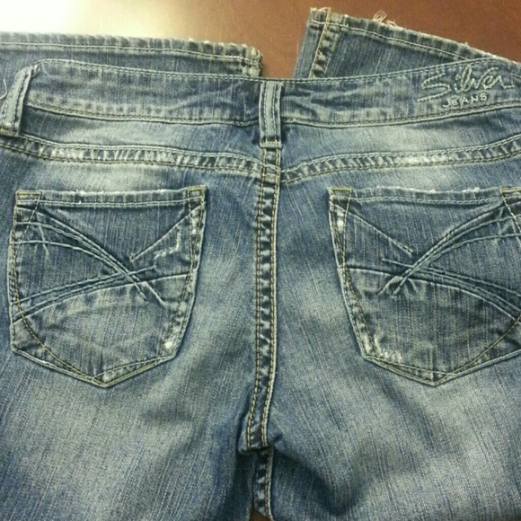 Silver Jeans - Silver jeans- Lola style- W28/L31- used from Lisa&39s
