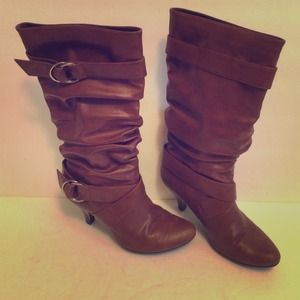 Brown Boots Size 6!!