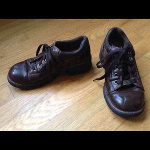 Lower East Side Shoes - 👞LOWER EASTSIDE Brown Pleather Shoes