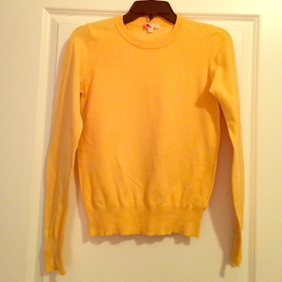 60% off Forever 21 Sweaters - Mustard Yellow Crew Neck Sweater ...
