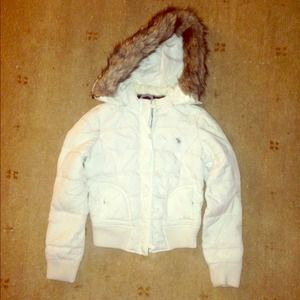 Abercrombie down puffy jacket