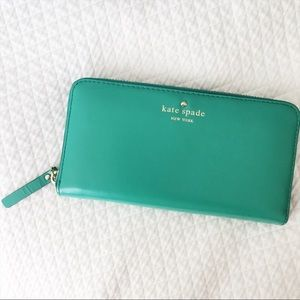 Kate Spade Tudor City Lacey Wallet - Teal