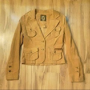 Tan Corduroy Jacket Sz Small NWOT
