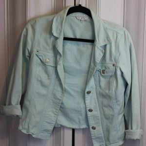 Cabi Mint denim jacket Sz S