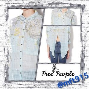 "💯Authentic Free People ""Shobori Cotton Blouse"""