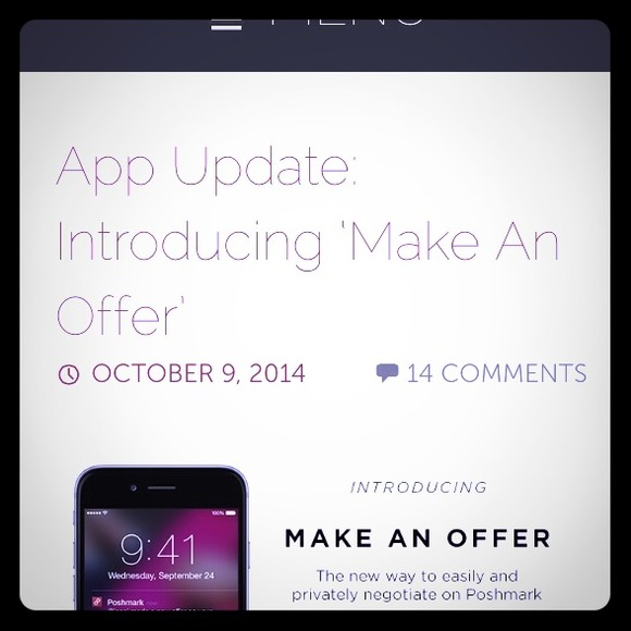 Use the new Make An offer feature to negotiate!