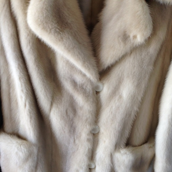 93% off Jackets & Blazers - REDUCED Women's Vintage Mink Car Coat