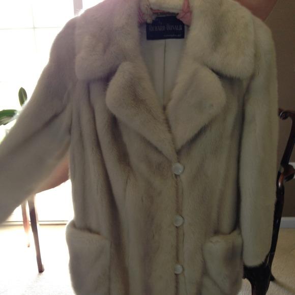 93% off Jackets & Blazers - REDUCED Women's Vintage Mink Car Coat ...