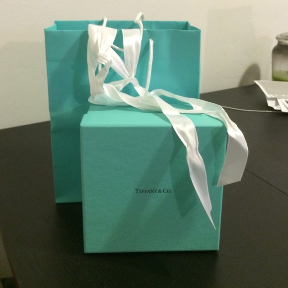 5c8b6e2d54 Tiffany & Co. Other | Gift Box With Ribbon And Paper Bag | Poshmark